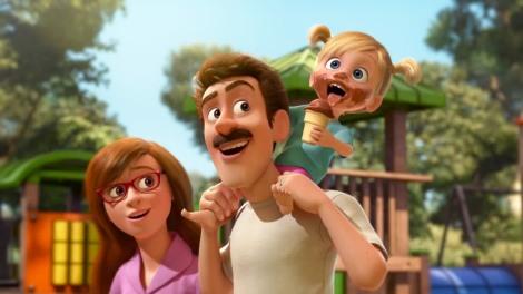 Disney, Pixar, W głowie się nie mieści, Inside Out, recenzja, bajka, dla dzieci