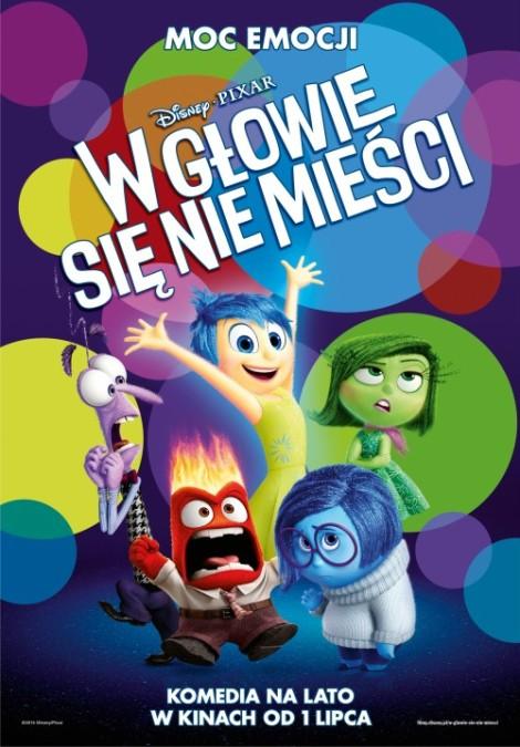 Disney, Pixar, bajka, dla dzieci, Inside Out, W głowie sie nie mieści, recenzja