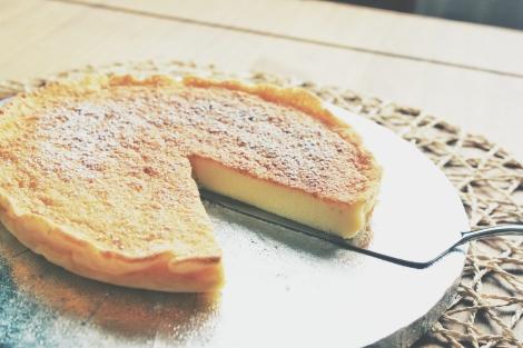 Japanese Souffle Cheesecake, sernik z 3 składników, ciasto